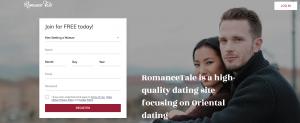 RomanceTale Registration