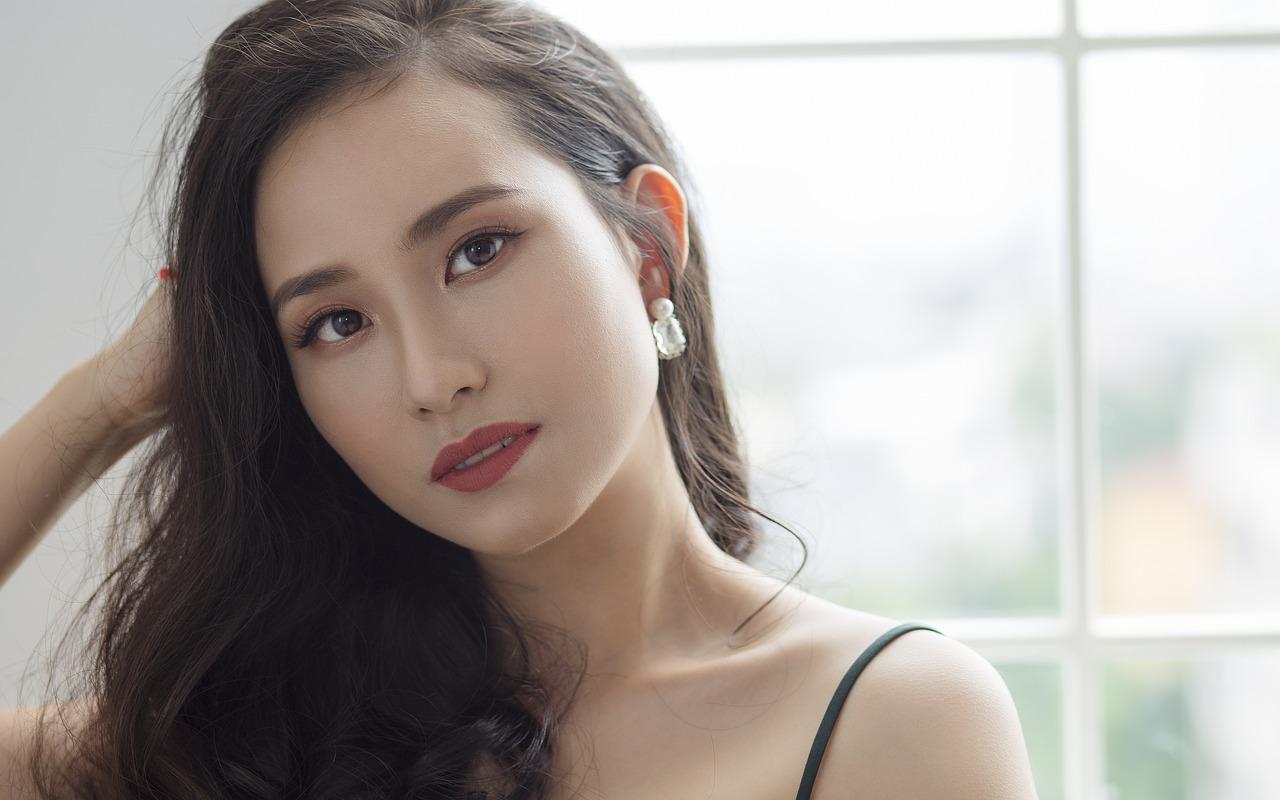 Chinese tender girl