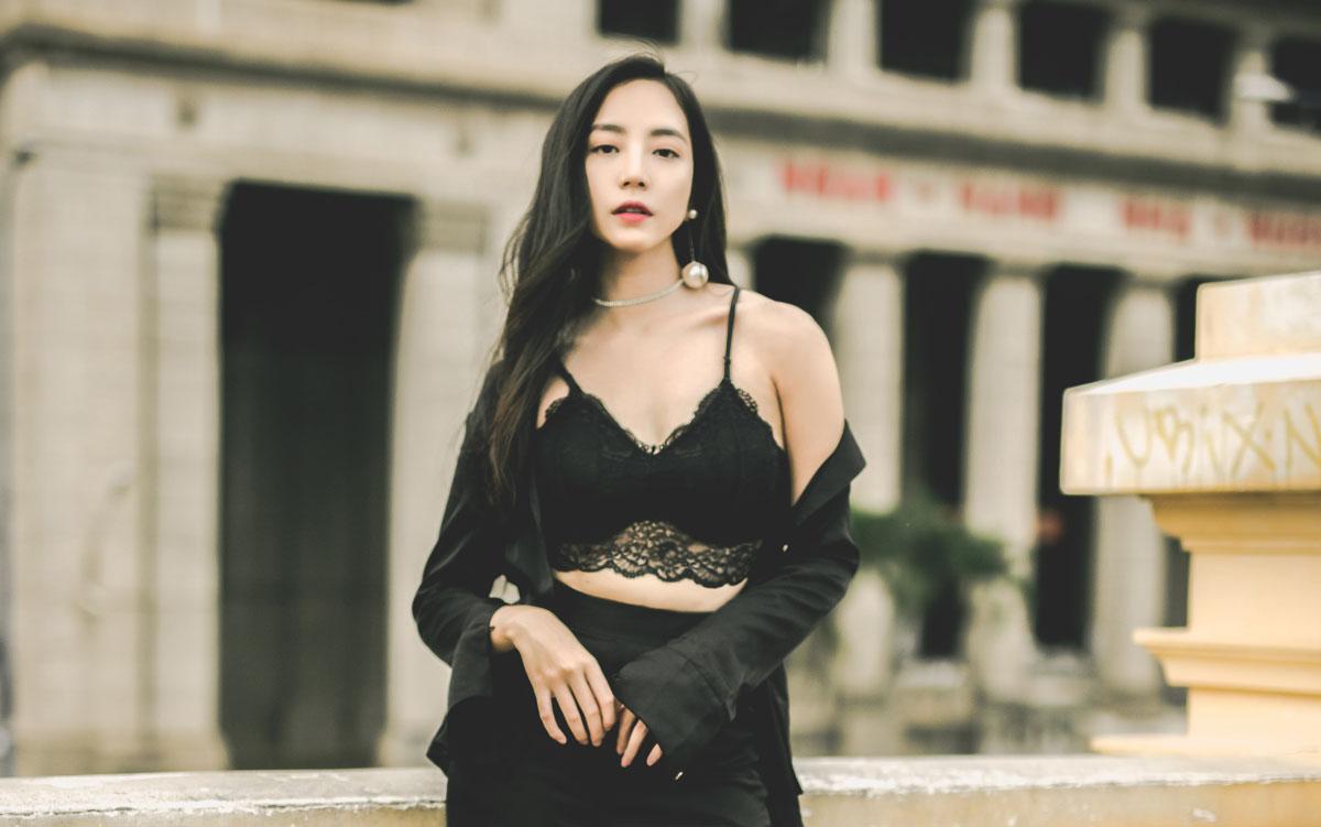 hot asian woman