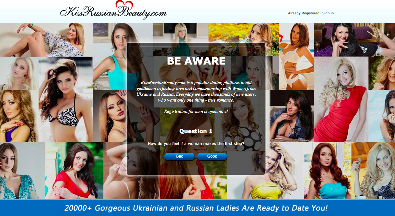 main page KissRussianBeauty