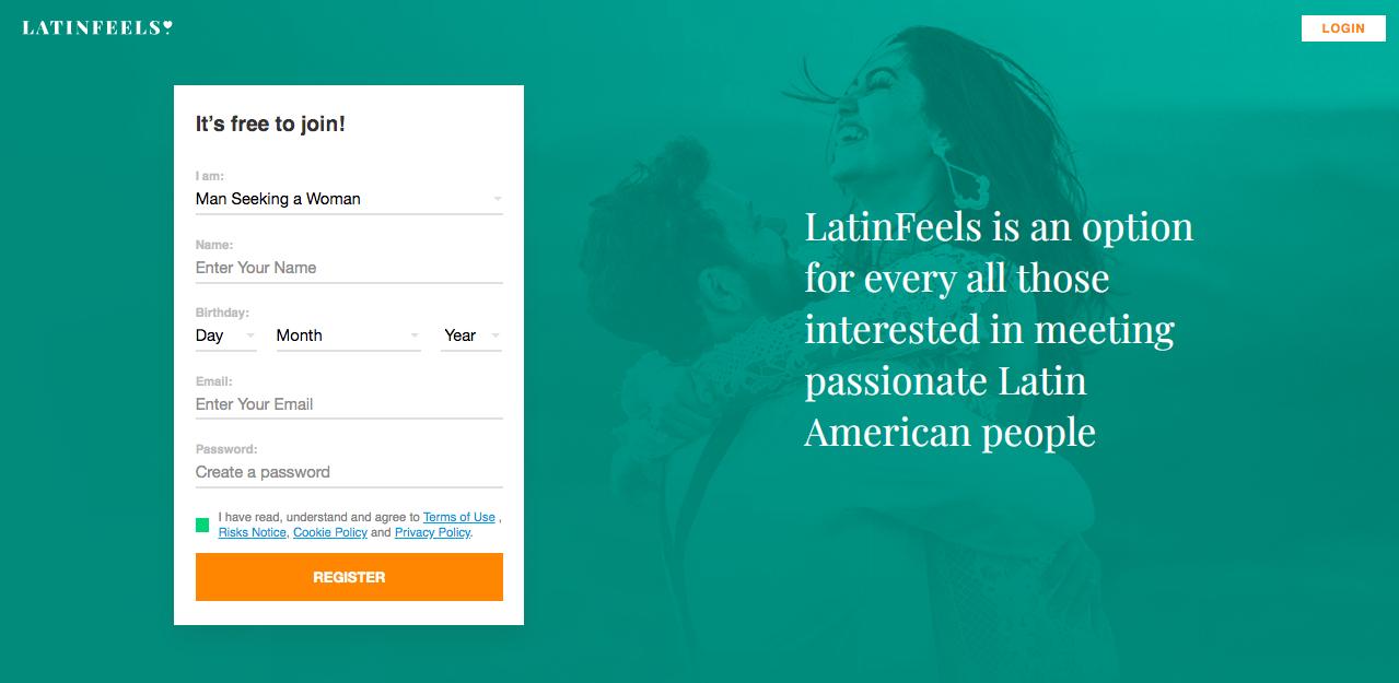 main page LatinFeels.com
