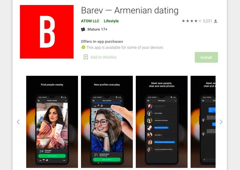 Barev App